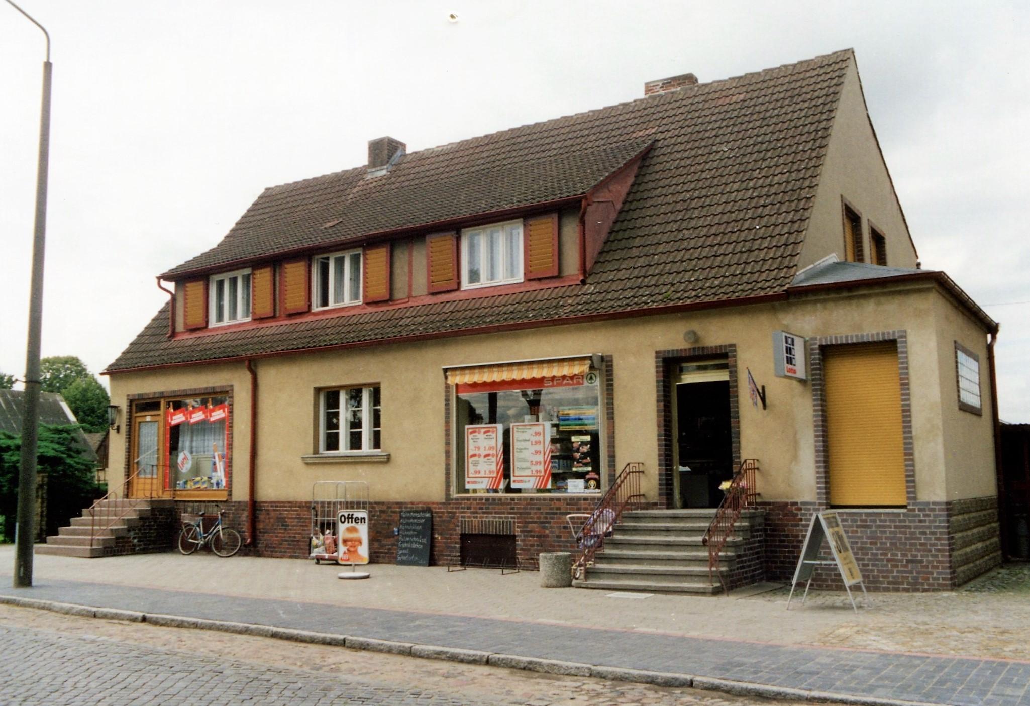 Kaufladen in Buchholz ca.1999