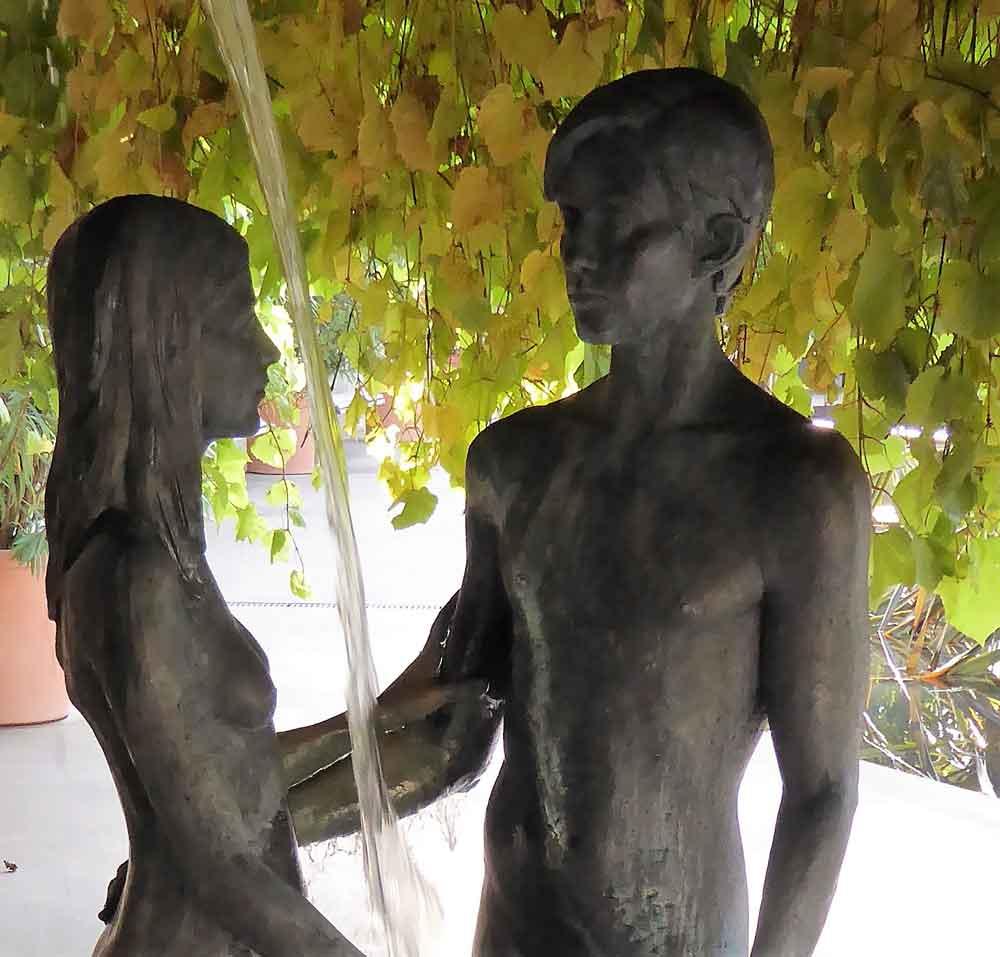 2017 Skulptur in Meran