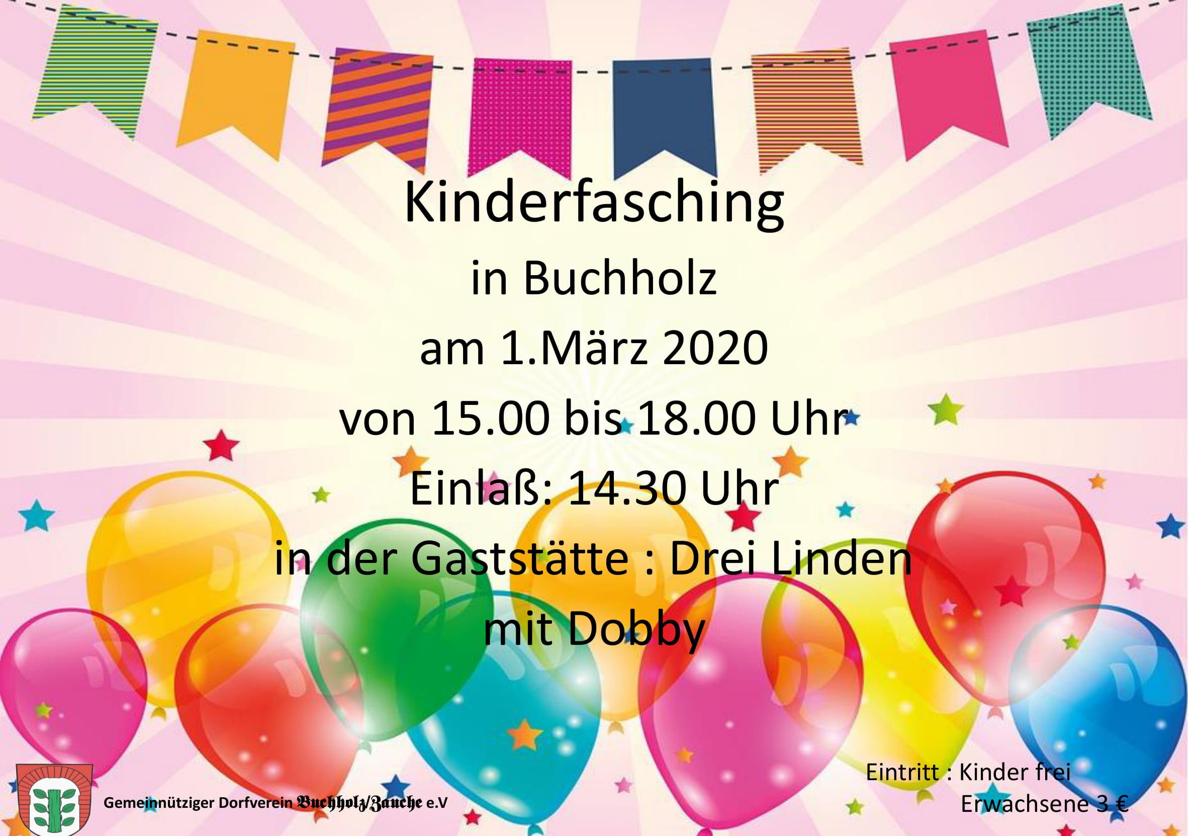kinderfasching 2020-1 Einladung