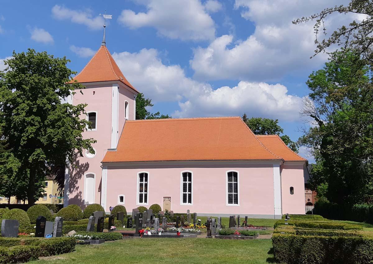 Kirche Buchholz nach Sanierung